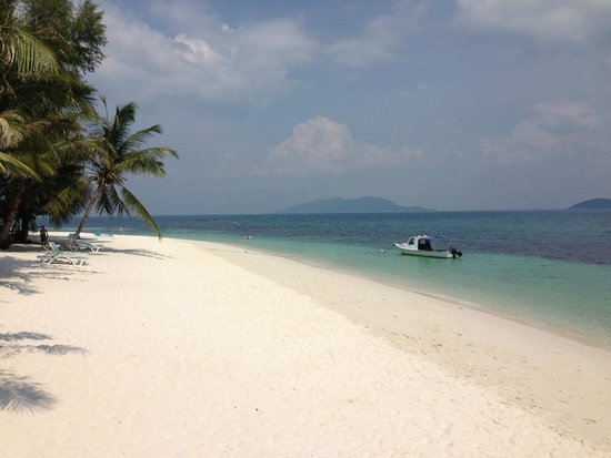 Rawa Island Resort: View from our room