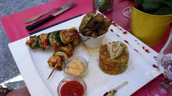 Bistrot Epice & Cafe : Le plat du jour!  RIEN a dire un délice des yeux et de la bouche