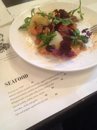 The Commune Social: seafood