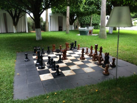 Delano South Beach Hotel : Chess