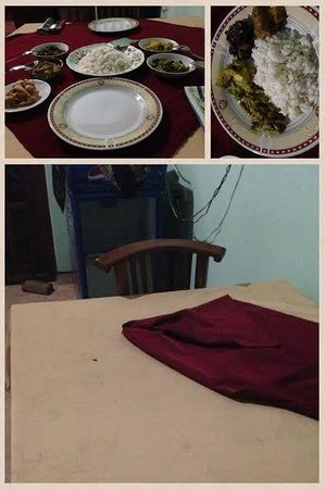 Sinhagiri Villa: The food prepared hours ago which made us sick for two days.