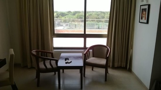 Lords Inn Somnath : View from window