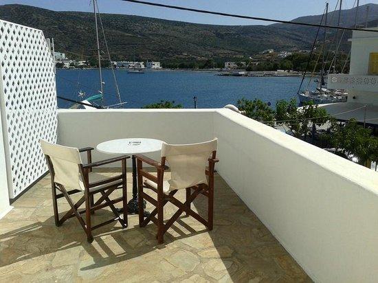 Hotel Minoa: il nostro balcone