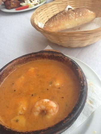 Restaurante Dominique's Fuengirola: Prawns Pil Pil style