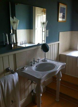 Swinton Park: loved the sink!