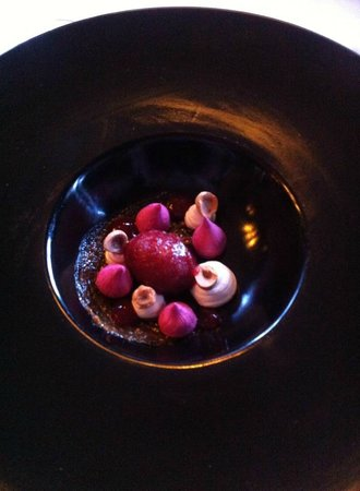 Swinton Park: Goats Cheese and Beetroot