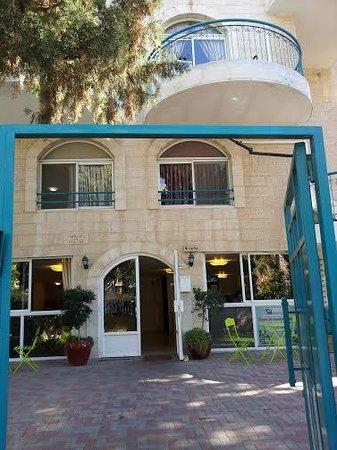 Eden Jerusalem Hotel: Entrance