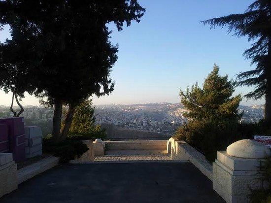 Eden Jerusalem Hotel: Haas Promenade, 5 minutes from the hotel!