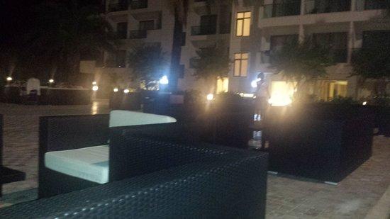 Club Hotel Falcon : terras