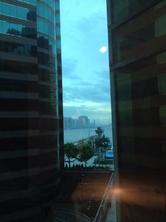 The Royal Pacific Hotel & Towers: view from corner window