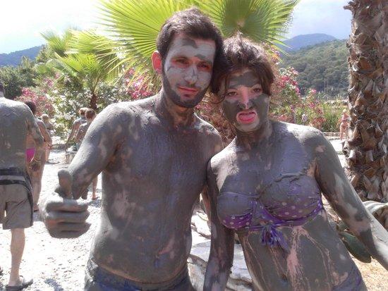Dalyan Mud Bath: down right dirty