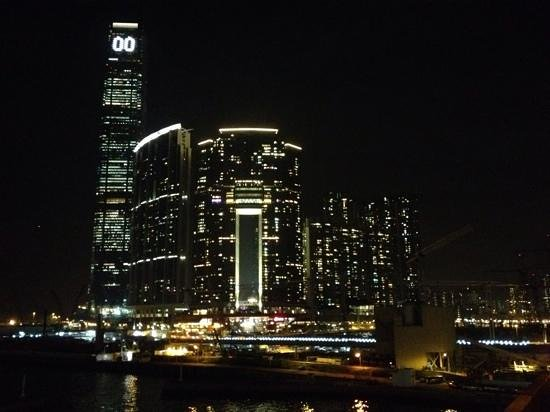 The Royal Pacific Hotel & Towers: view from the waterfront