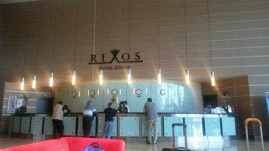 Rixos Konya: reception