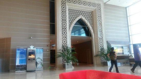 Rixos Konya: entrance to health club from lobby area
