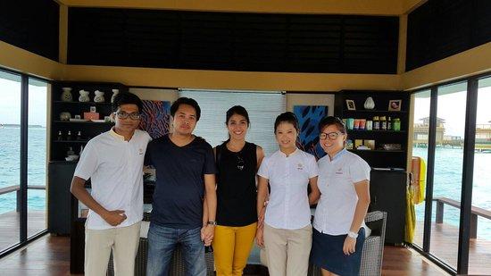 Angsana Velavaru : With Charming Staffs from Angsana