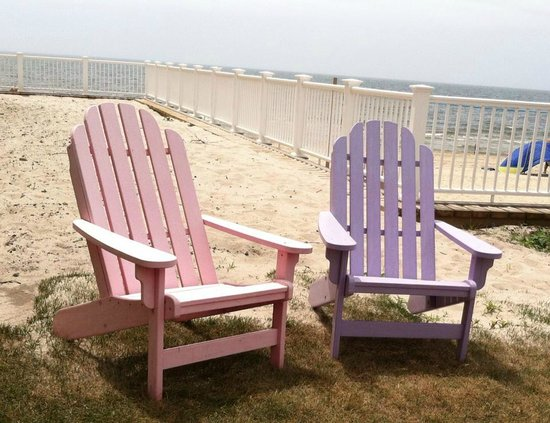 Bluegreen Vacations The Soundings, Ascend Resort Collection : Cape Cod chairs of many colors!