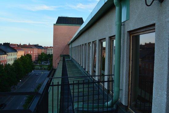 Elite Palace Hotel Stockholm: веранда на этаже