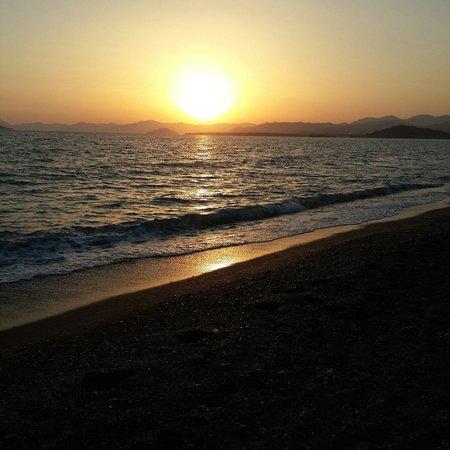 Calis Beach: Bu gün batımı  unutulmaz