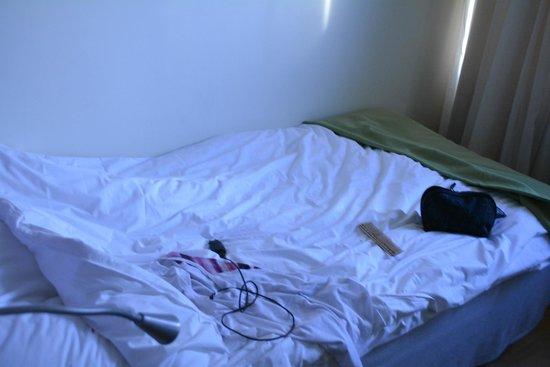 Elite Palace Hotel Stockholm: кровать