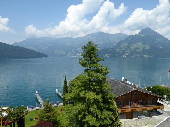 Hotel Seerausch: View from room 309