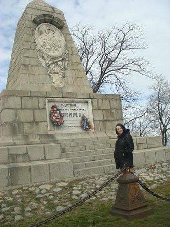 Alyosha Soviet Army Memorial : мемориал Александру Второму
