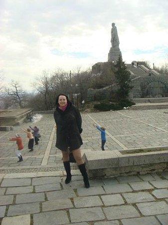 Alyosha Soviet Army Memorial: вид на Алёшу)