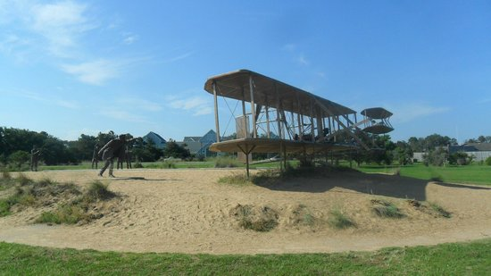 Wright Brothers National Memorial: Replica of the Wright Flyer of December 1903