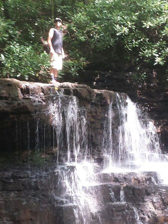 Church Hill, TN: Second waterfall.