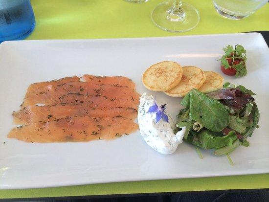 Ciboule et Ciboulette: Saumon mariné