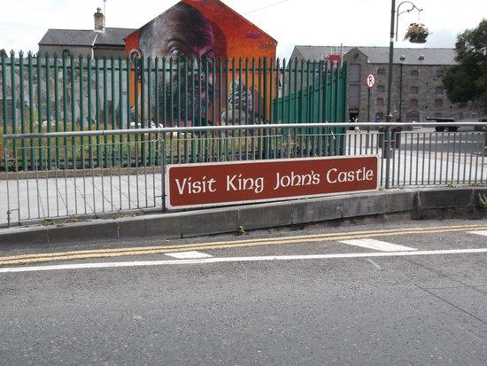 King John's Castle: le château