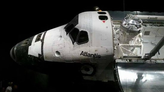 NASA Kennedy Space Center Visitor Complex: Retired Atlantis Shuttle