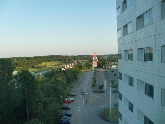 Quality Hotel Airport Arlanda: вид из номера 524