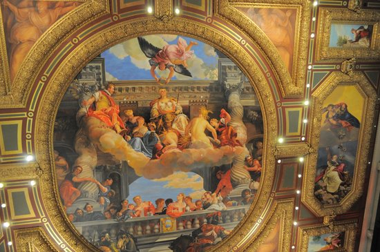 The Venetian Las Vegas : One of the picture on the ceiling