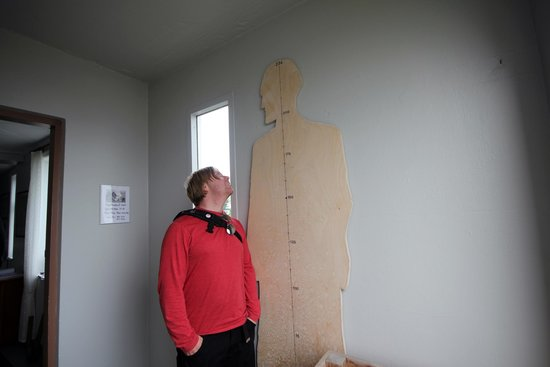 Dalvik, Iceland: And he was very tall.
