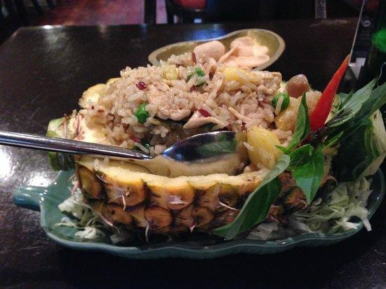 MANGO TREE Surawongse : タイ米は炒めると本当に美味しい