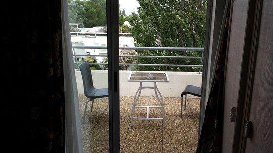 Best Western Golf Hotel : Vue sur la terrasse de la chambre