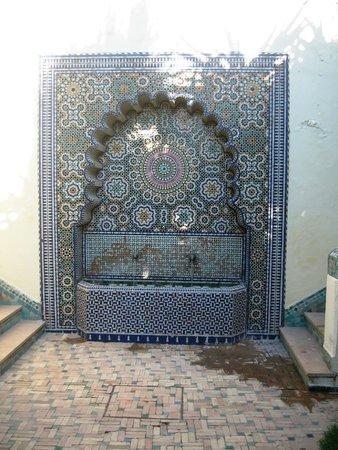 Sofitel Fes Palais Jamai : Brunnen auf dem Hotelgelände