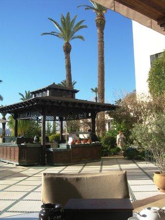 Sofitel Fes Palais Jamai : Restauranterrasse