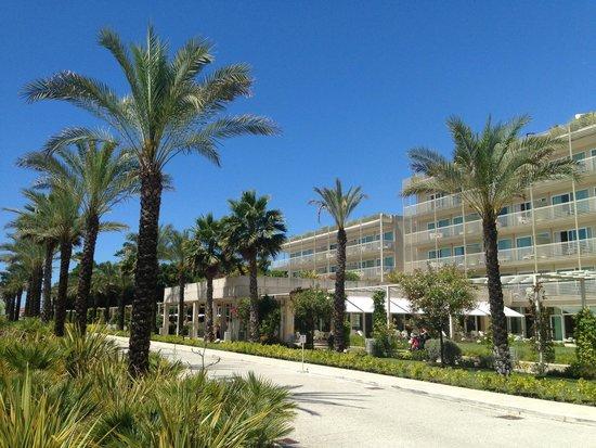 UNA Hotel Versilia : Outside & great view !!!