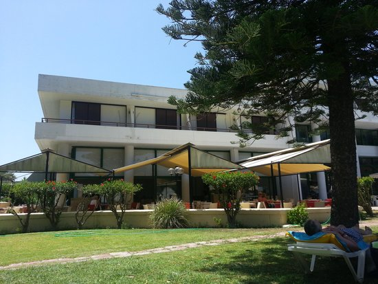 Kalithea Sun & Sky Hotel: Hotel & restaurant