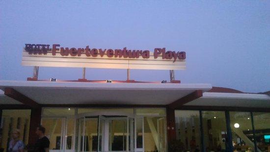 Hotel Fuerteventura Playa: l'entrée de l'hôtel