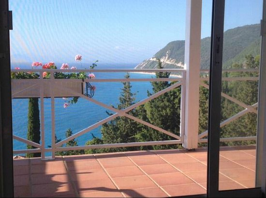 Myrto Vacation Relaxing Homes: Vista dal terrazzo