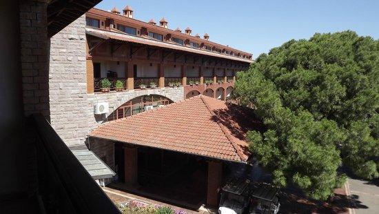 Papillon Belvil Hotel: view