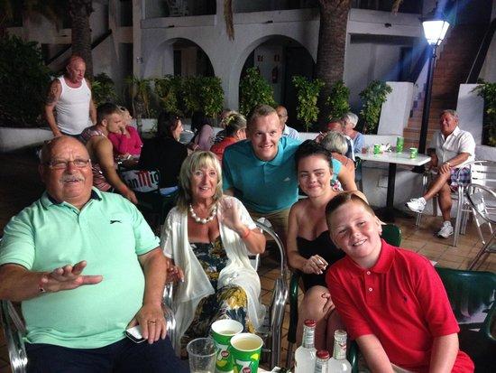 Hotel Nido del Aguila: Party nights!!