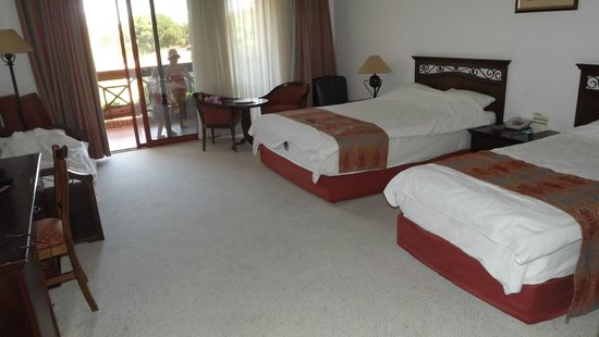 Papillon Belvil Hotel: Room in main building