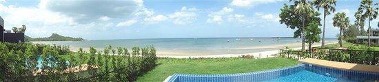 Thap Sakae, Tailandia: Beach View (Villa)