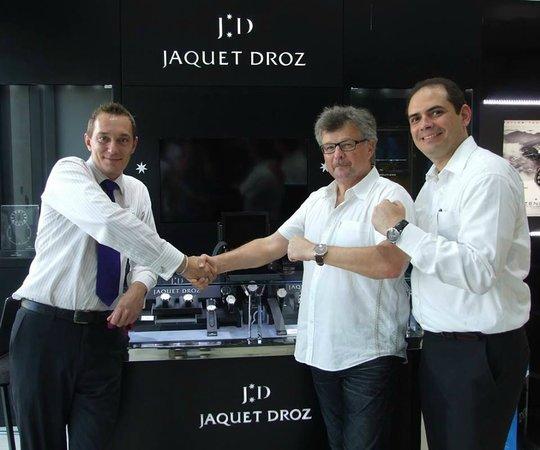 Diamonds International: Congratulations to Mr. Ernst Weimann, our DI Aruba's first Jaquet Droz owner.