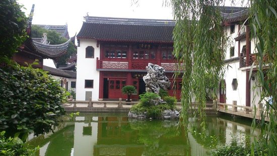 Jiading Confucian Temple: The inside garden