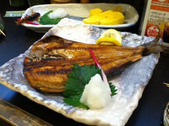 Izakaya Yuzu: 大きなホッケ。看板料理
