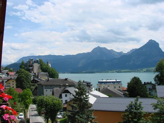 Hotel Furian am Wolfgangsee: View from balcony